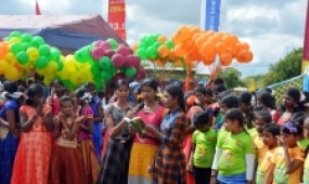 SFHQ-Wanni Launches Mammoth Children's Day Project