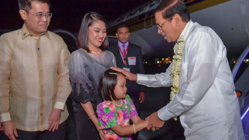 President commences state visit to Philippines