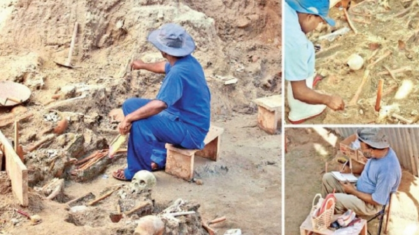 Magistrate suspends Mannar mass grave excavations