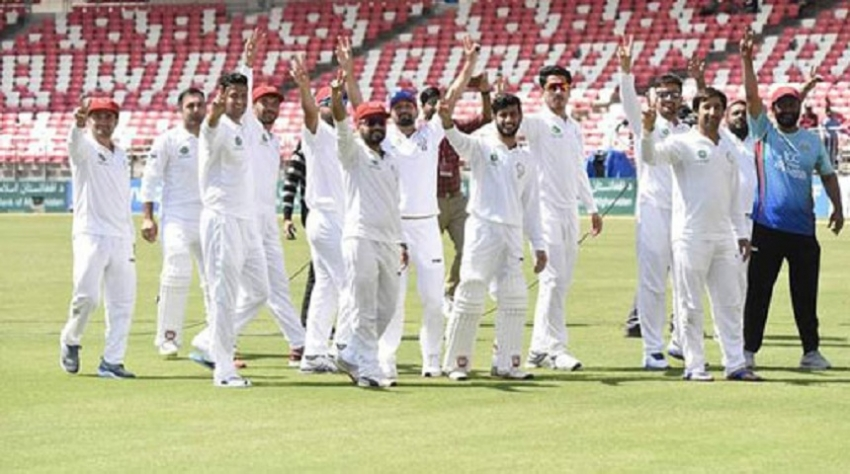 Afghanistan scripts history with maiden Test win over Ireland