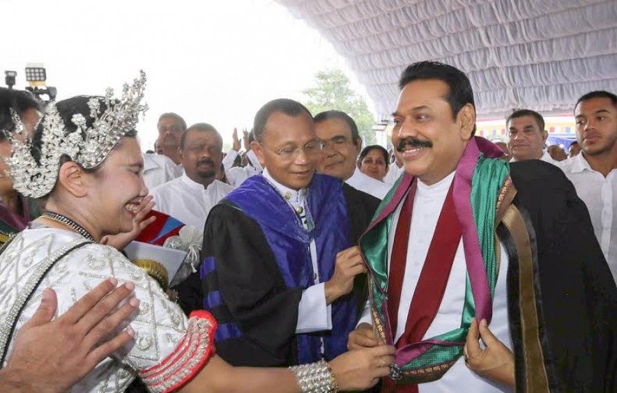 Govt. of Thailand confer Doctorate on President Rajapaksa