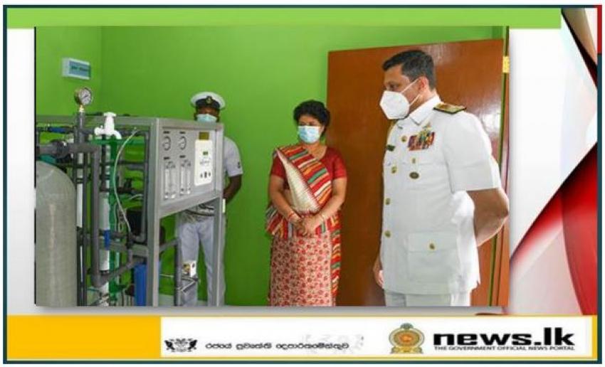 Seva Vanitha – sponsored RO plant vested with public in Karuwalagaswewa, Puttalam