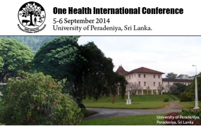 Peradeniya University to hold 'One Health' Intl. Confab