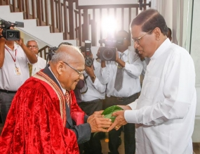 Govt wants ideas of scholars & intellectuals to build the country – President