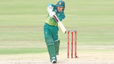De Kock breaks century barrier to steer South Africa to rain-hit win