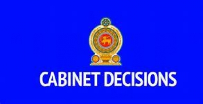 Decisions taken by the Cabinet of Ministers at its meeting held on 16.10.2018