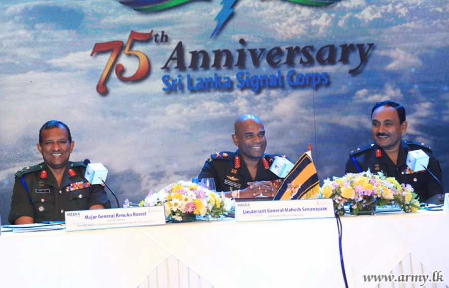 Sri Lanka Signal Corps to celebrate 75th Anniversary with International Symposium and ICT Exhibition