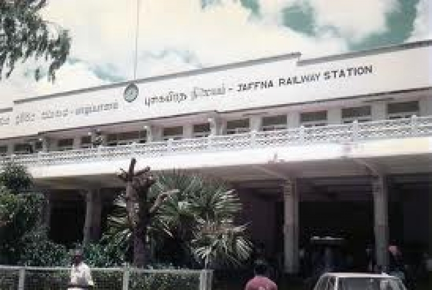 Jaffna Railway Station reconstruction work nearing completion