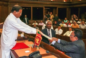 A Cabinet Minister, State Minister and four Deputy Ministers sworn-in before the President