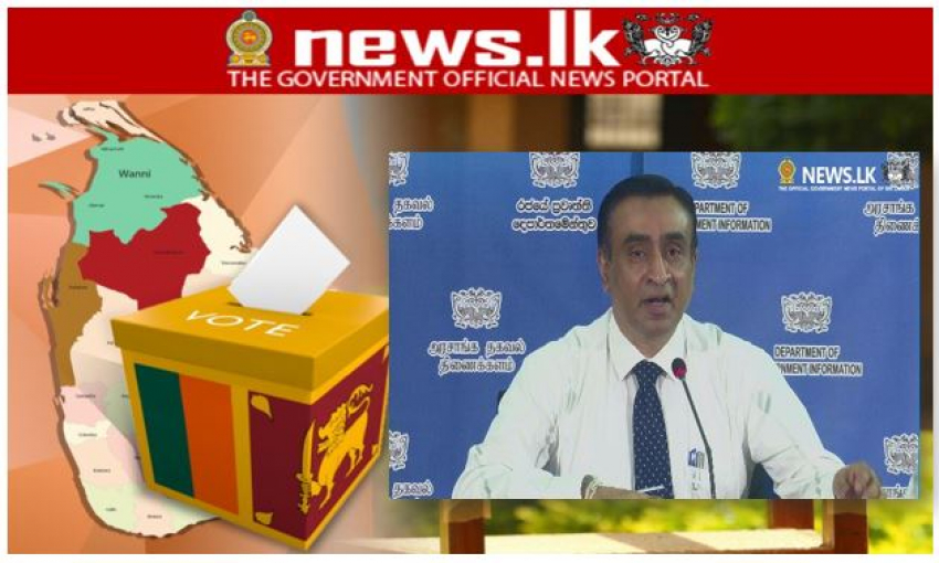 Government Info Dept. to provide official election results together with the Election Com. – Live telecast over New Media