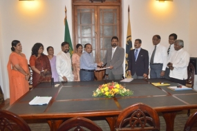 Henry Pedris Park Development Project Joint Venture of FFSL & Colombo Municipality Council MOU