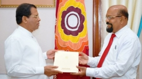 President donates Rs.45 million to renovate Golden Canopy