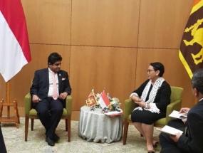 State Minister Senanayake attends BDF in Jakarta