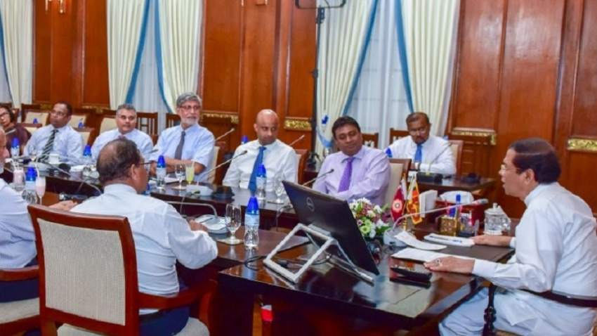Chamber of Commerce met with President