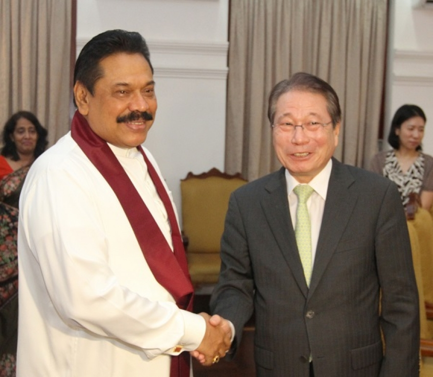 Sri Lanka has Achieved a Lot, Korean Envoy Tells President Rajapaksa