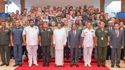 President inaugurates Colombo Defence Seminar 2019