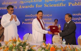 More than 300 Scientists receive President's Awards for Scientific Publications
