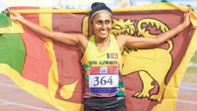 Nilani clinches first athletic gold medal