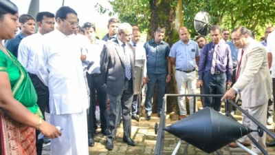 President opens A.N.S.Kulasinghe 'Activity Centre'
