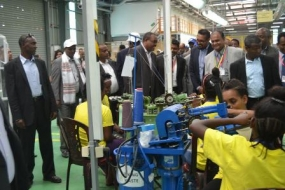 Sri Lankan companies commence production in Ethiopia