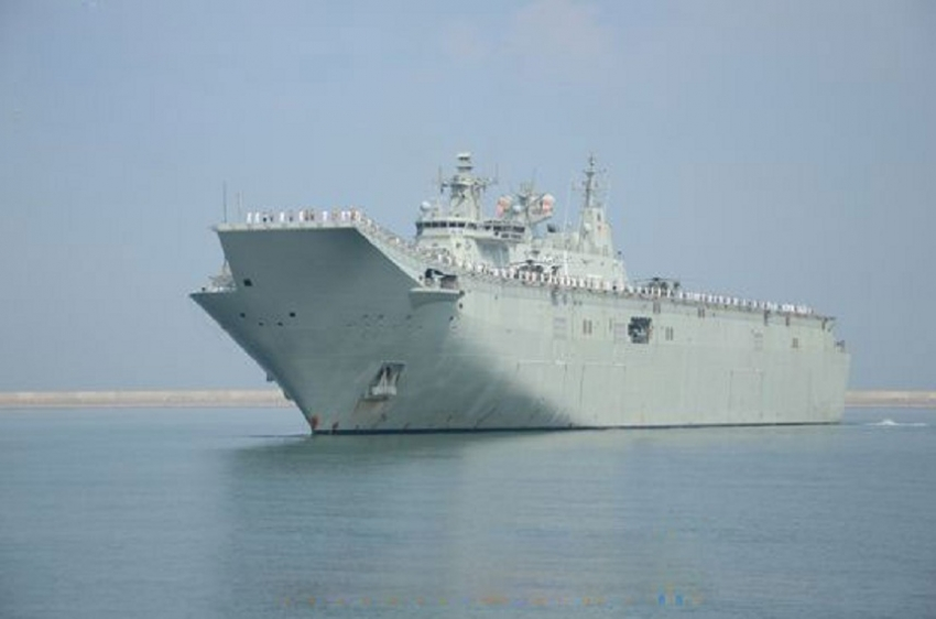 4 Australian Naval ships arrive in Sri Lanka for IPE 19