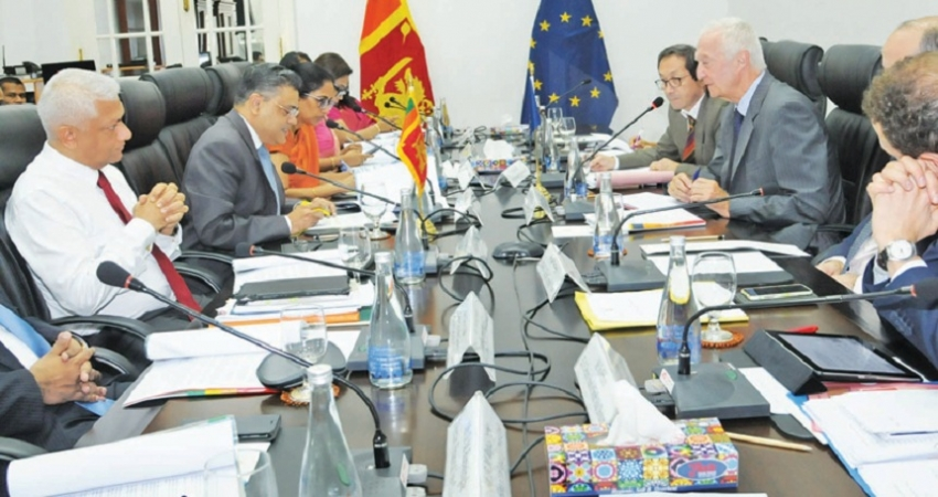 DIALOGUE ON COUNTER TERRORISM COOPERATION WITH EU IN COLOMBO