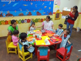 Expansion and improvement of the 2,000  Daycare Facilities for Children