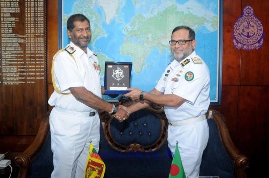 Bangladesh National Defence College Team visits Sri Lanka Navy