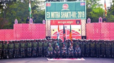 India-Sri Lanka joint military exercise begins