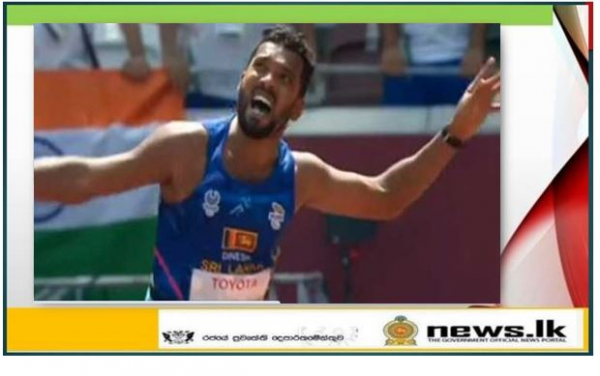 Sri Lankan Gold Medalist in Tokyo Paralympics Promoted