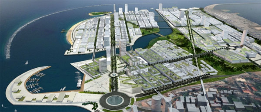 Chec Confirms Suspension Of Colombo Port City Project