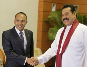 President Rajapaksa Agrees to Assist Education Development in Maldives