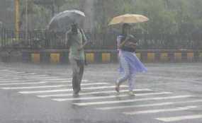 Showery and windy weather to continue