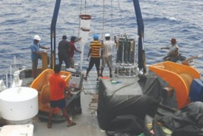 NARA's research buoy lost in seas recovered after four years