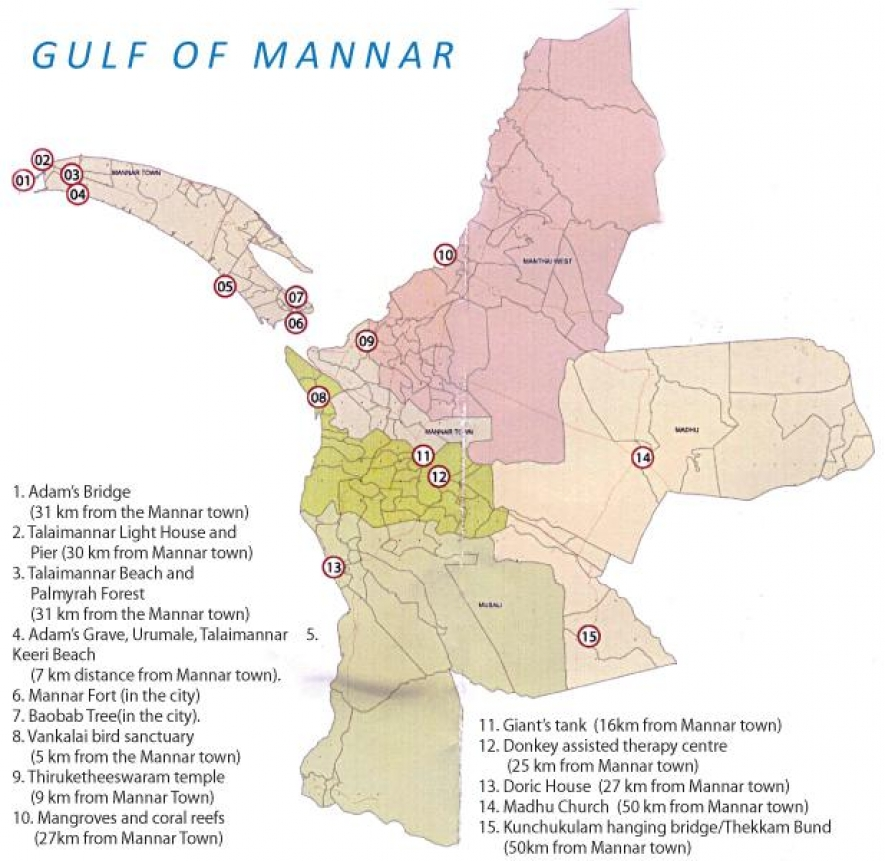 MANNAR, THE NEXT HOT SPOT FOR TOURISM