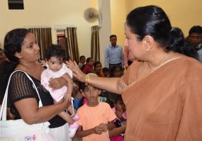 Modernized  Child and  Maternity Clinics at Kelaniya Constituency vested with the people