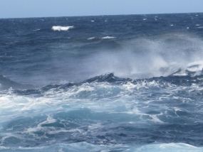 Rough sea areas and Increase in wind speeds