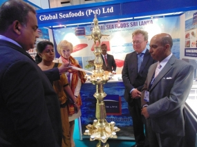 Sri Lanka  at annual European Seafood exposition in Belgium