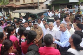 PM warns trouble makers and called for police report on Gintota incidents