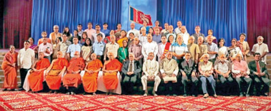 Mahabodhi India delegation on Poson tour to Sri Lanka