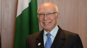 Operation against militants continues successfully: Sartaj Aziz