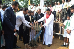 Construction begins on  Isipathana College Swimming Pool