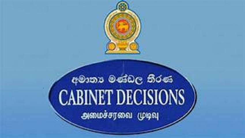 Decisions taken by the Cabinet of Ministers at its meeting held on 23.10.2018