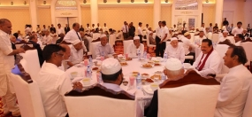 President participates at Iftar celebrations at Temple Trees