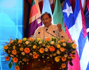 Ambassador Aryasinha Identifies Global Challenges to Sri Lanka as a Rising Nation