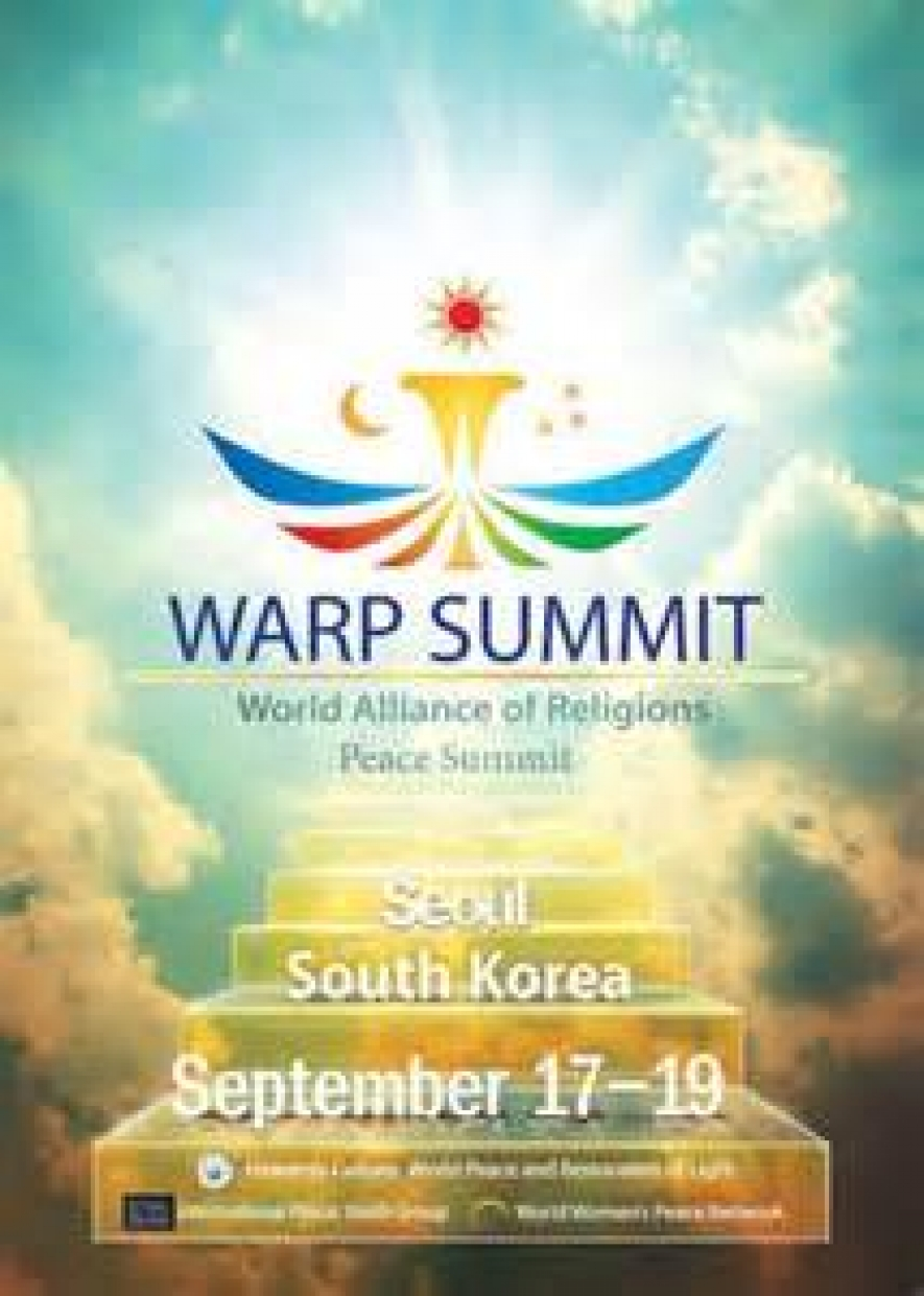 Second WARP Summit In September - Second religion in the world