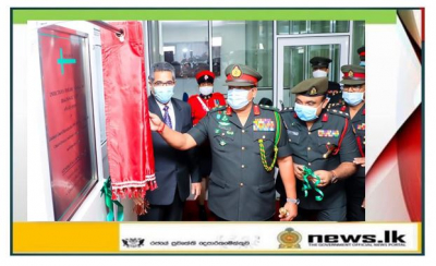 Colombo Army Hospital Strengthens National Efforts Opening Infectious Disease Molecular Diagnostic Laboratory