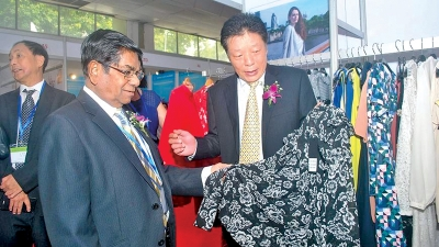 China Products Exhibition opens at SLECC