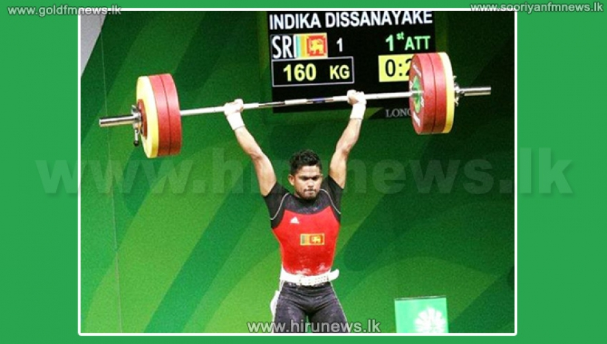 Silver for Indika Dissanayake at Commonwealth Games