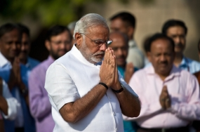 Narendra Modi sworn in Prime Minister
